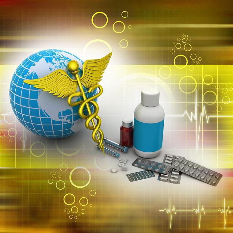 globe & medicine