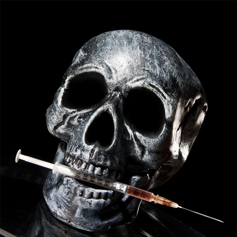 skull needle