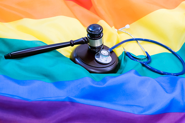 rainbow gavel