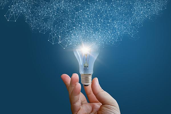 ideas, light bulb