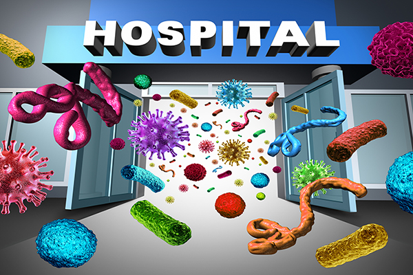 Emerging Fungus Spreads Far And Wide In Hospitals 2018