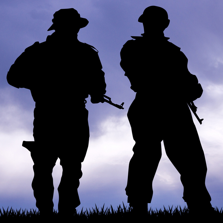 2 soldiers