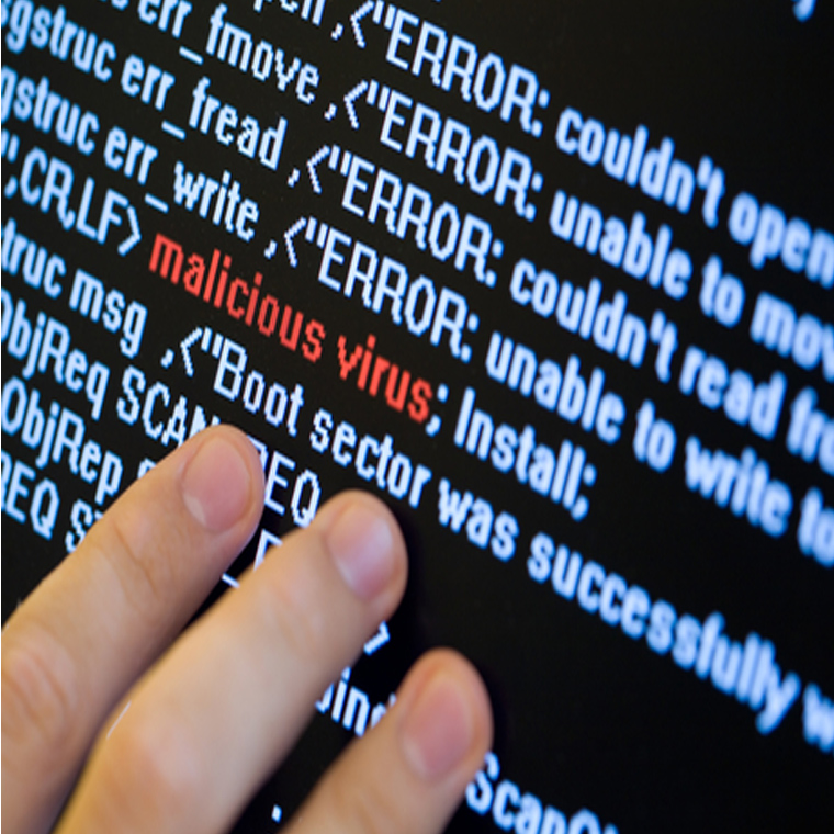 the words malicious malware