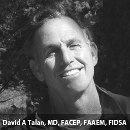 David A Talan, MD, FACEP, FAAEM, FIDSA