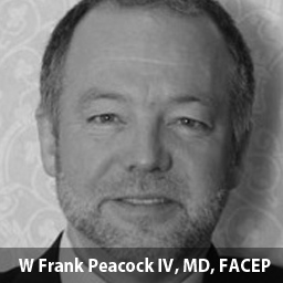 W Frank Peacock IV, MD, FACEP