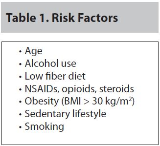 Table 1. Risk Factors