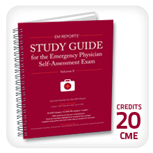 EM Reports' Study Guide for the Emergency Physician Self-Assessment Exam Vol 10