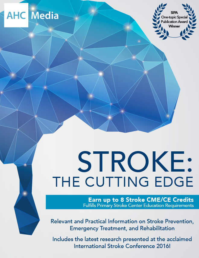 STROKE: The Cutting Edge - PDF Download | AHC Media