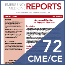 Emr emergency medicine reports 2018